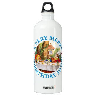 Mad Hatter Wishes Alice a Very Merry Unbirthday SIGG Traveler 1.0L Water Bottle