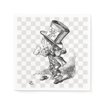 shelbysemail2 Mad Hatter with Biscuit and Tea Napkin