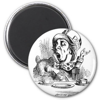 Mad Hatter with Dormouse Magnet