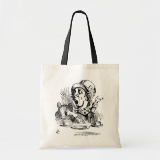 Mad Hatter with Dormouse Tote Bag