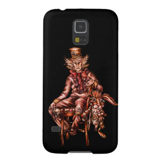 Mad Hatter with March Hare Drawing Galaxy S5 Cover