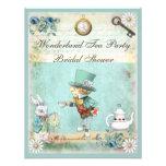 Mad Hatter Wonderland Tea Party Bridal Shower Personalized Invites