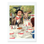 Mad Hatter's Tea Party 5x7 Paper Invitation Card