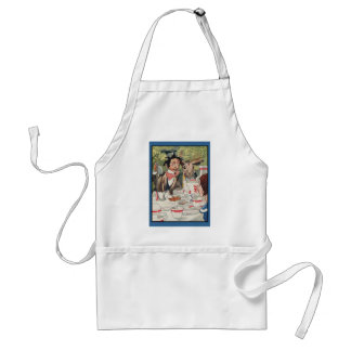 Mad Hatters Tea Party Adult Apron