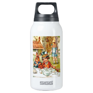Mad Hatter's Tea Party  - Alice in Wonderland Insulated Water Bottle