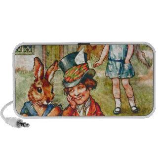 Mad Hatter's Tea Party  - Alice in Wonderland iPhone Speakers