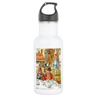 Mad Hatter's Tea Party  - Alice in Wonderland Water Bottle