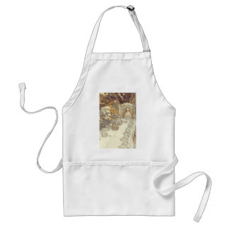 Mad Hatters Tea Party Apron