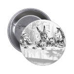 Mad Hatter's Tea Party Button