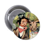 Mad Hatter's Tea Party Buttons