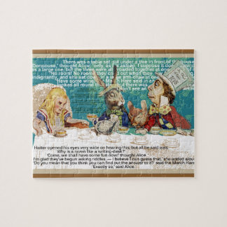 Mad Hatter's tea party Jigsaw Puzzle