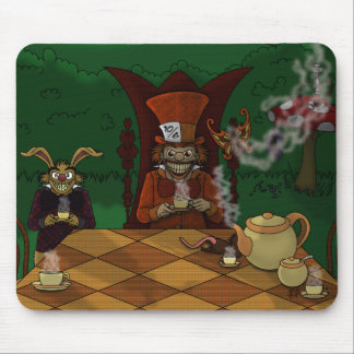 Mad Hatters Tea Party Mousepad