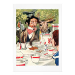 Mad Hatter's Tea Party Personalized Announcement
