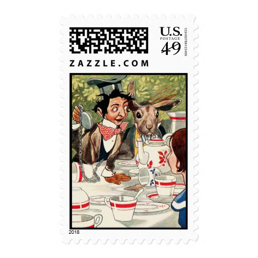 Mad Hatter's Tea Party Stamps
