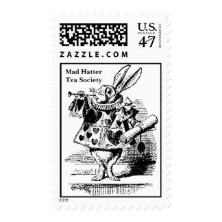 Mad HatterTea Society Postage