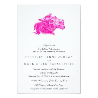 Mad Horse Head Card