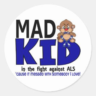 Mad Kid ALS Stickers