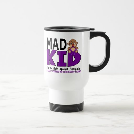 Mad Kid Anorexia 15 Oz Stainless Steel Travel Mug