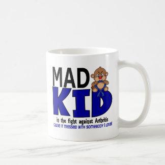 Mad Kid Arthritis Coffee Mugs