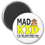 Mad Kid Bladder Cancer Fridge Magnets