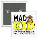 Mad Kid Bladder Cancer Pinback Button