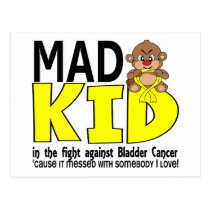 Mad Kid Bladder Cancer Postcard