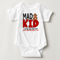 Mad Kid Blood Cancer Baby Bodysuit