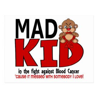 Mad Kid Blood Cancer Postcard