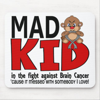 Mad Kid Brain Cancer Mouse Pad