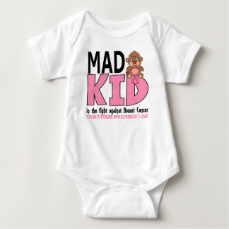 Mad Kid Breast Cancer Baby Bodysuit