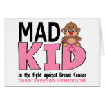 Mad Kid Breast Cancer Greeting Card