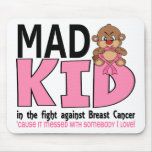 Mad Kid Breast Cancer Mouse Pad