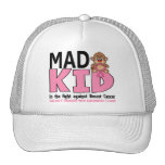 Mad Kid Breast Cancer Trucker Hat