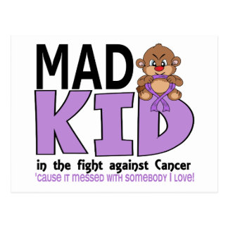 Mad Kid Cancer Postcard