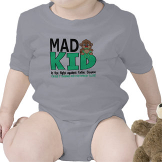Mad Kid Celiac Disease Tshirts