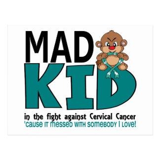 Mad Kid Cervical Cancer Postcard