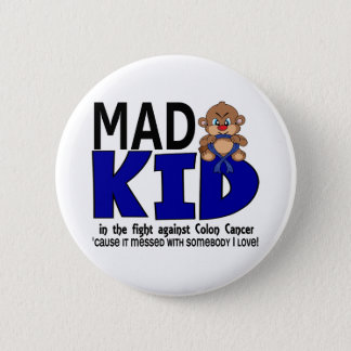 Mad Kid Colon Cancer Pinback Button