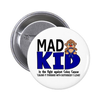 Mad Kid Colon Cancer Pinback Button