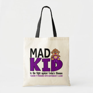 Mad Kid Crohn's Disease Canvas Bag