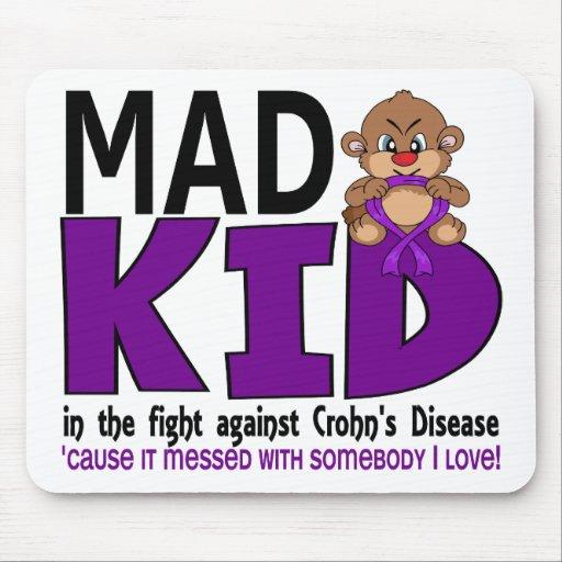 Mad Kid Crohn's Disease Mouse Pad