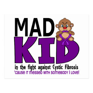 Mad Kid Cystic Fibrosis Postcard