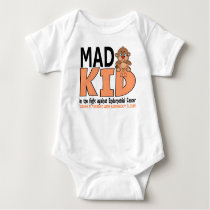 Mad Kid Endometrial Cancer Baby Bodysuit