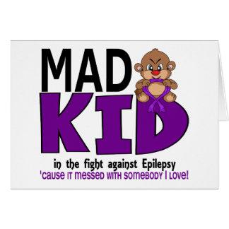 Mad Kid Epilepsy Card