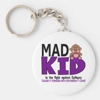 Mad Kid Epilepsy Keychain