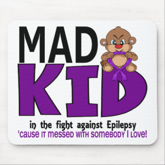 Mad Kid Epilepsy Mouse Pad