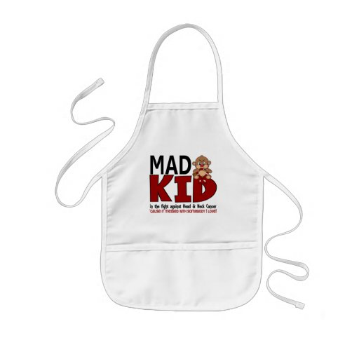 Mad Kid Head and Neck Cancer Apron