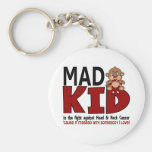 Mad Kid Head and Neck Cancer Keychain