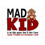 Mad Kid Head and Neck Cancer Post Card