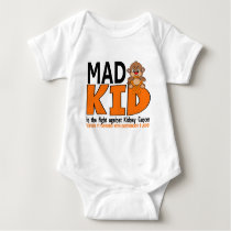 Mad Kid Kidney Cancer Baby Bodysuit