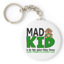 Mad Kid Kidney Disease Keychain